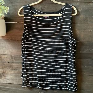 Vince Camuto XL Tiered Sleeveless Tank Top